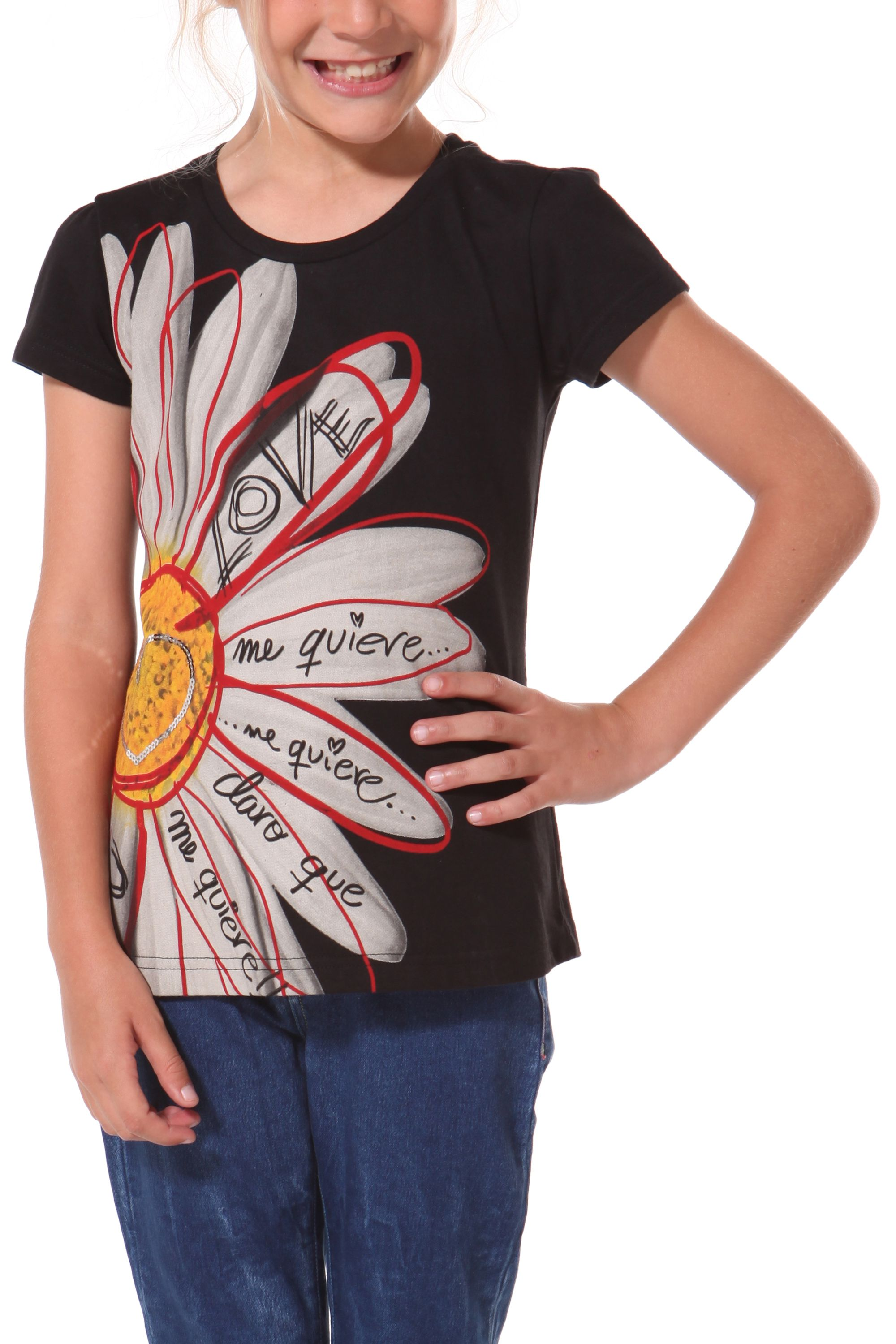 Girl`s marga rep t-shirt