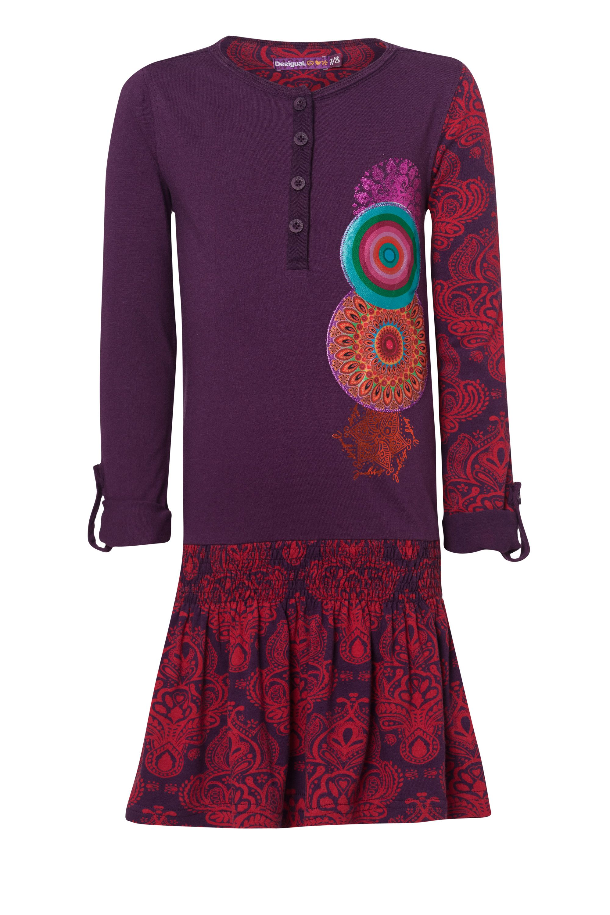 Girl`s ani  rep dress