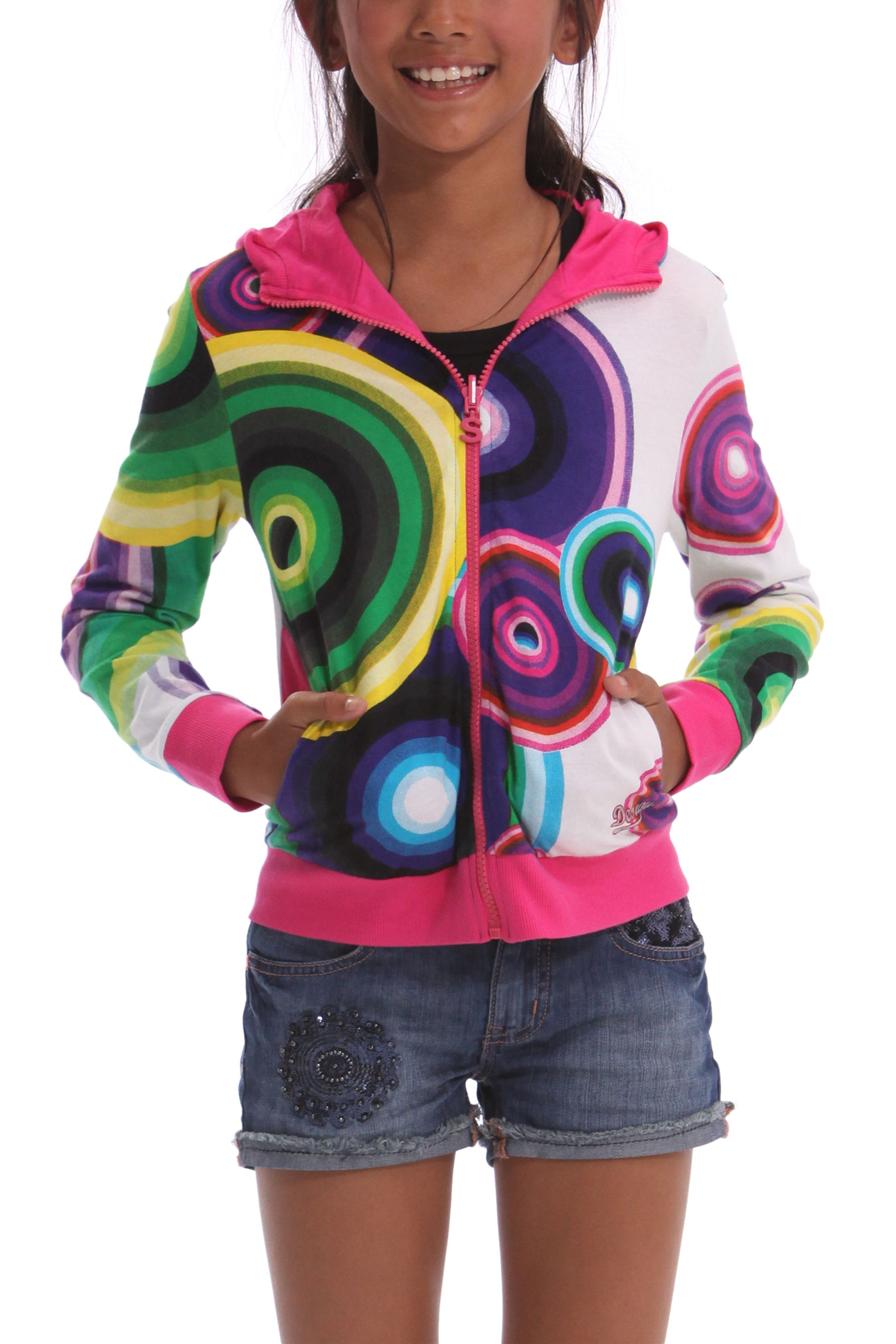 Girl`s alan hooded top