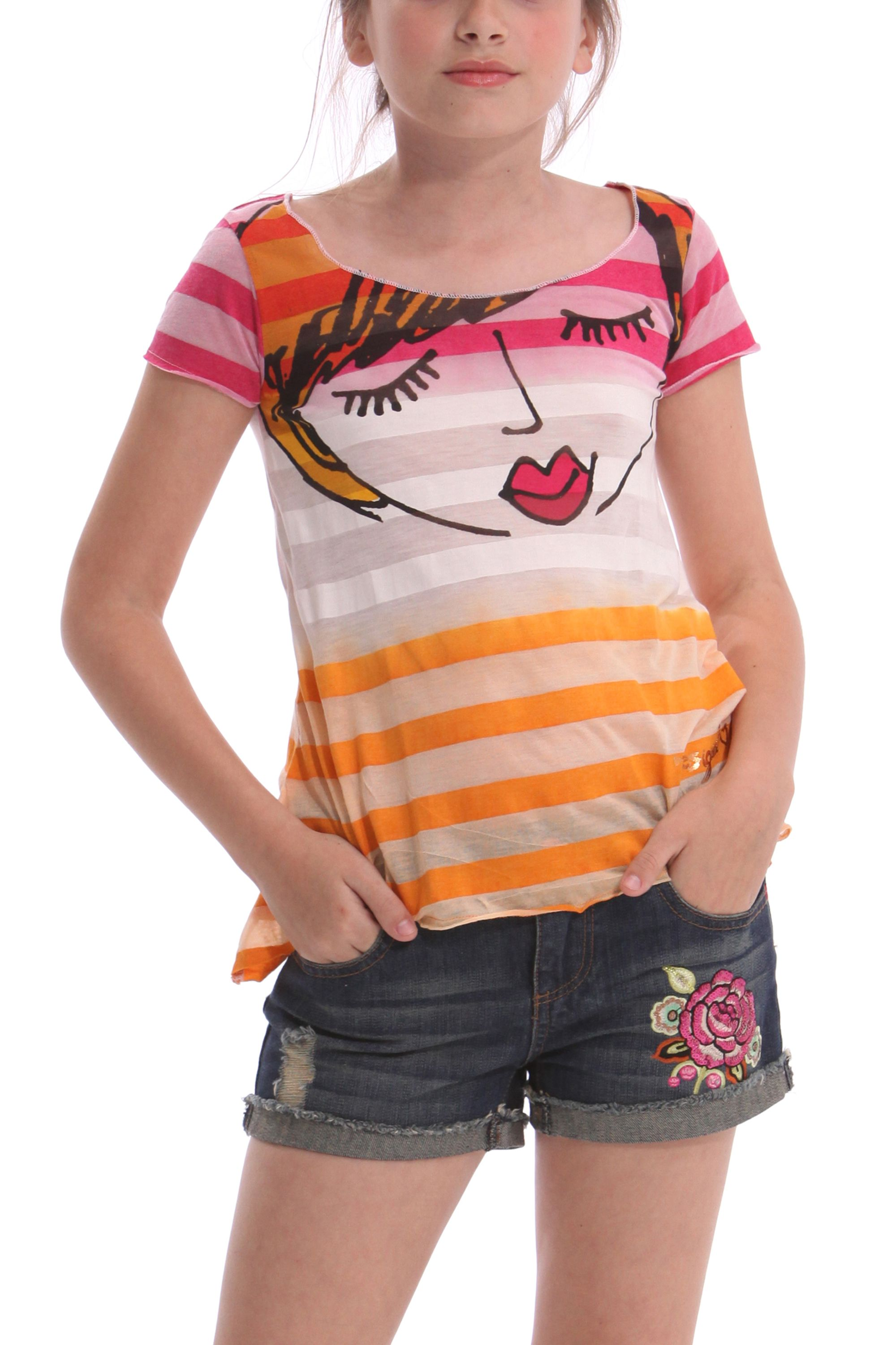 Girl`s baquer t-shirt
