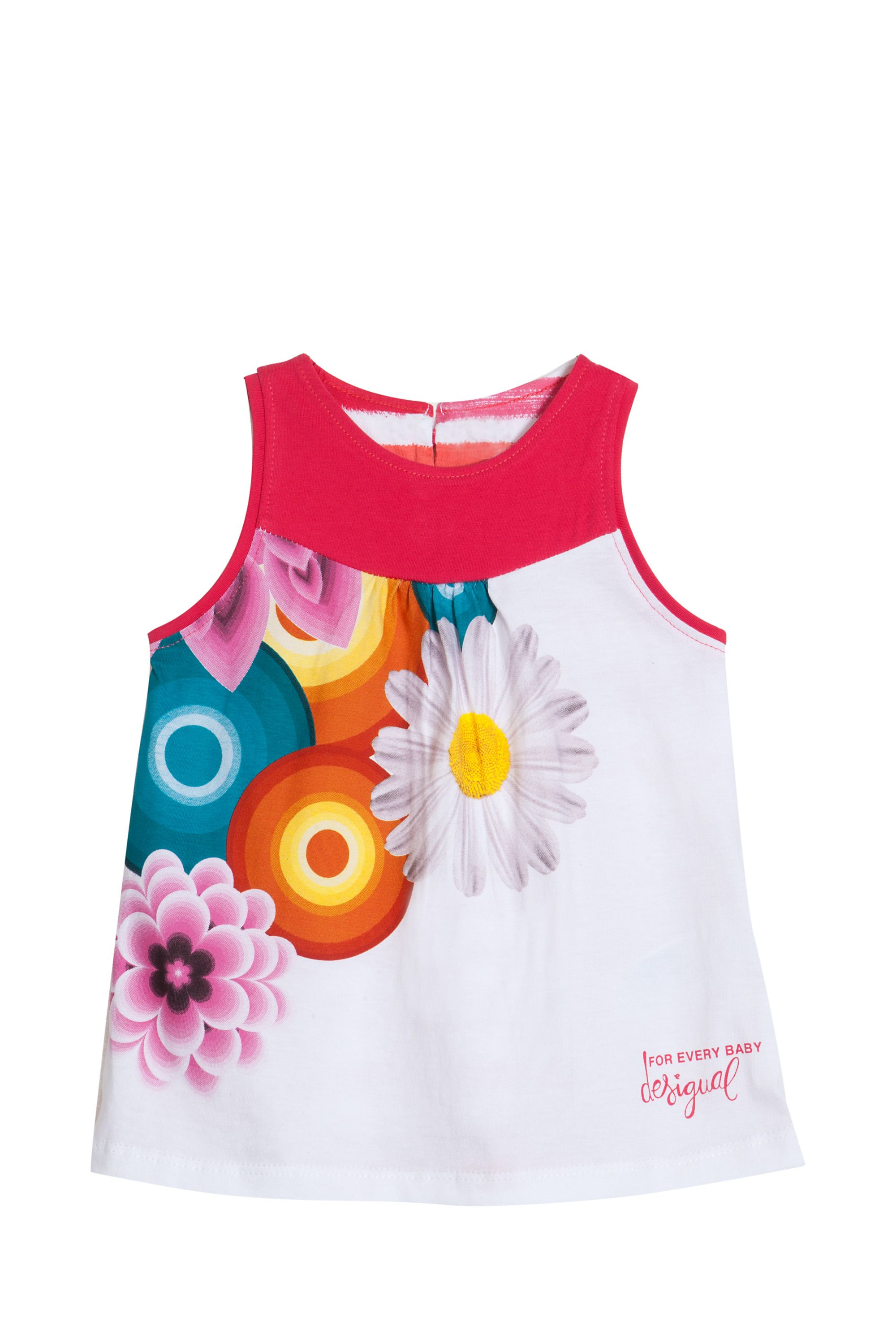 Baby girl`s rayas dress