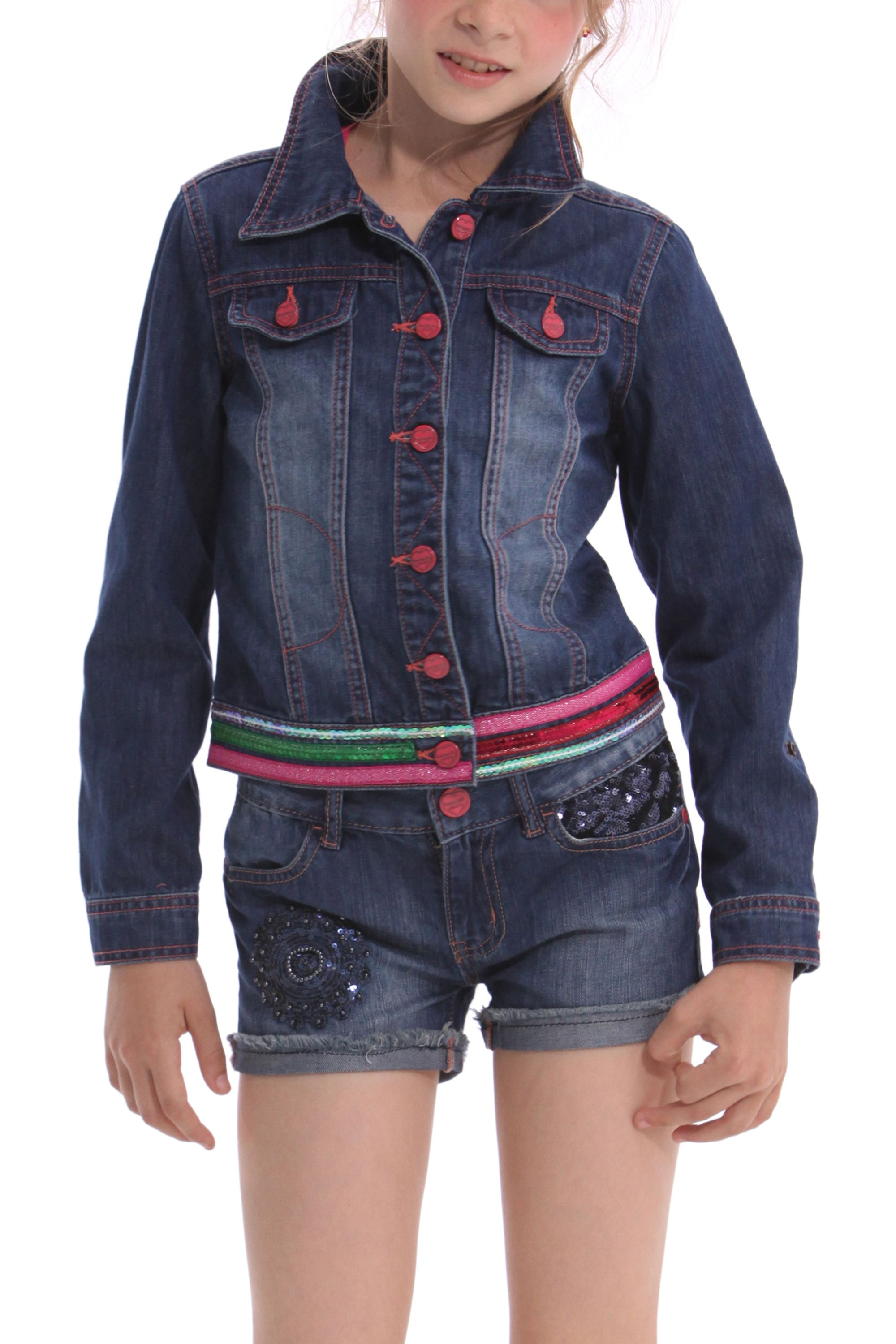 Girl`s mick denim jacket