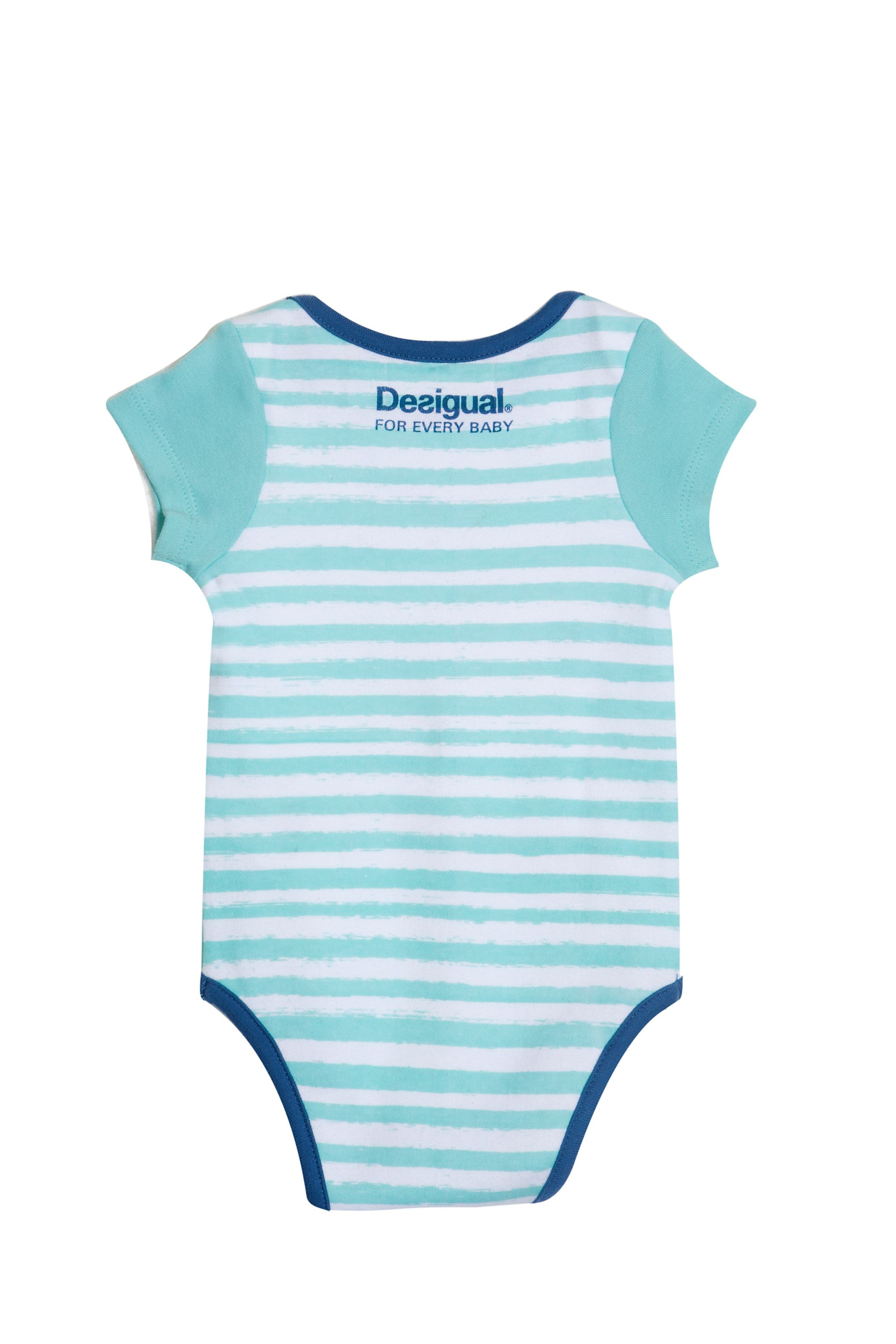 Baby boy`s tibu shark bodysuit