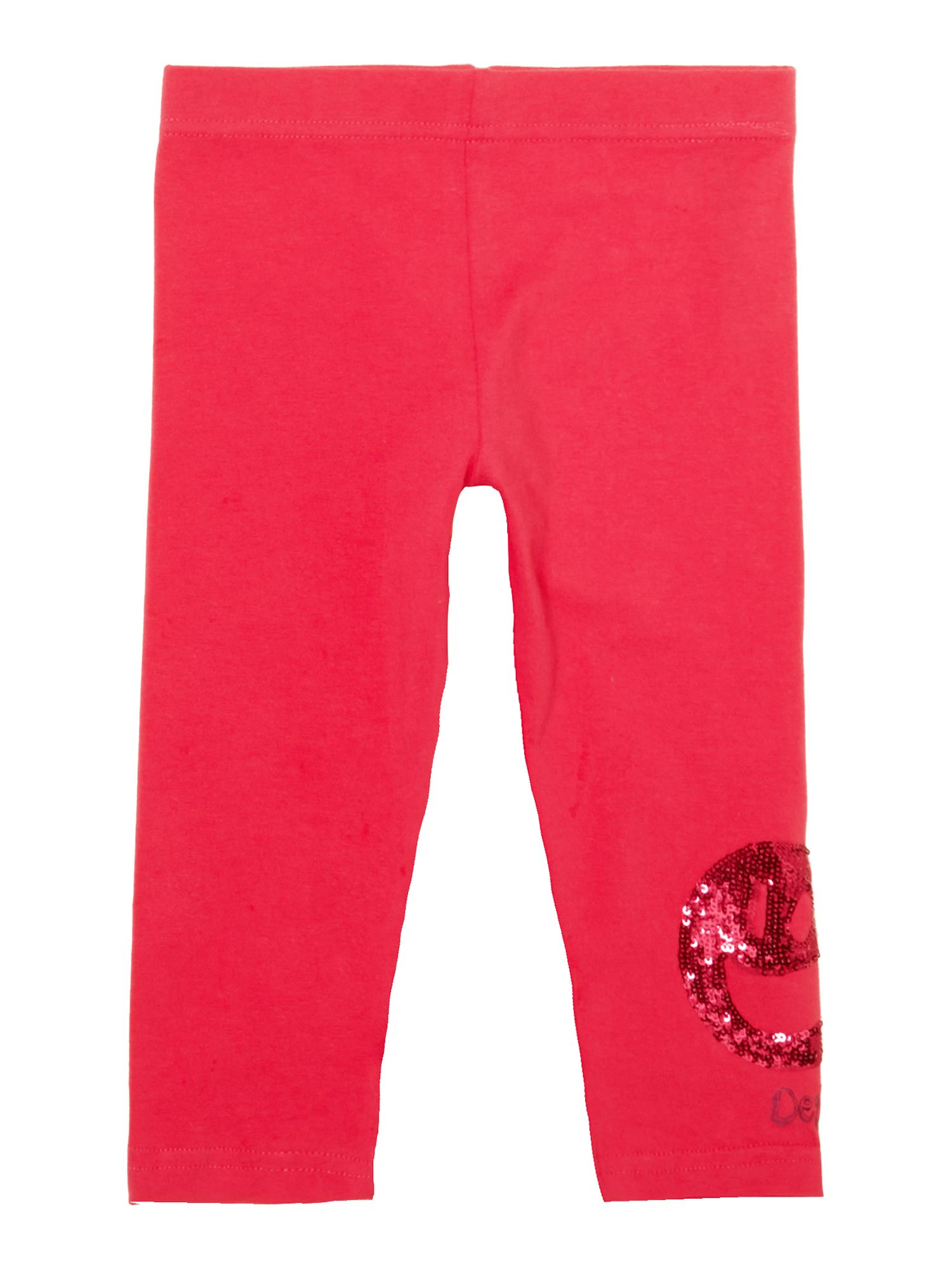 Girl`s plain mudge legging