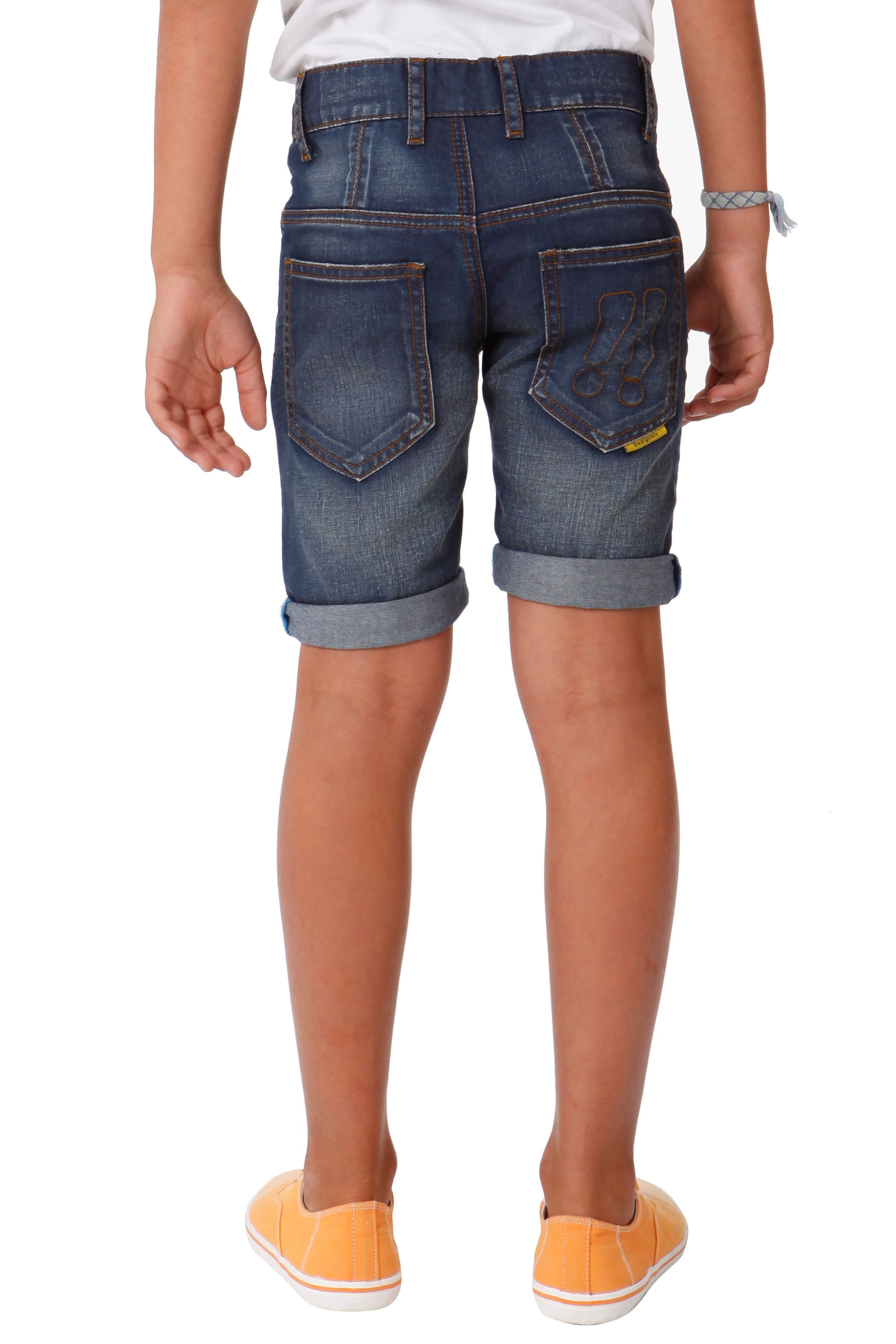 Boys adler denim shorts
