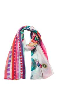 Girls grau scarf