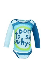 Baby Boys Text printed bodysuit