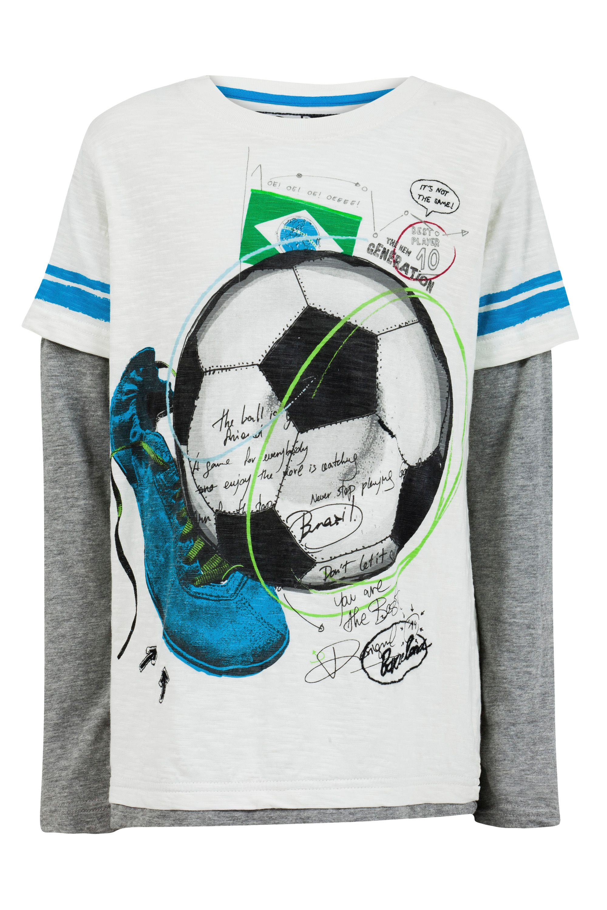 Boys Xavi football t-shirt