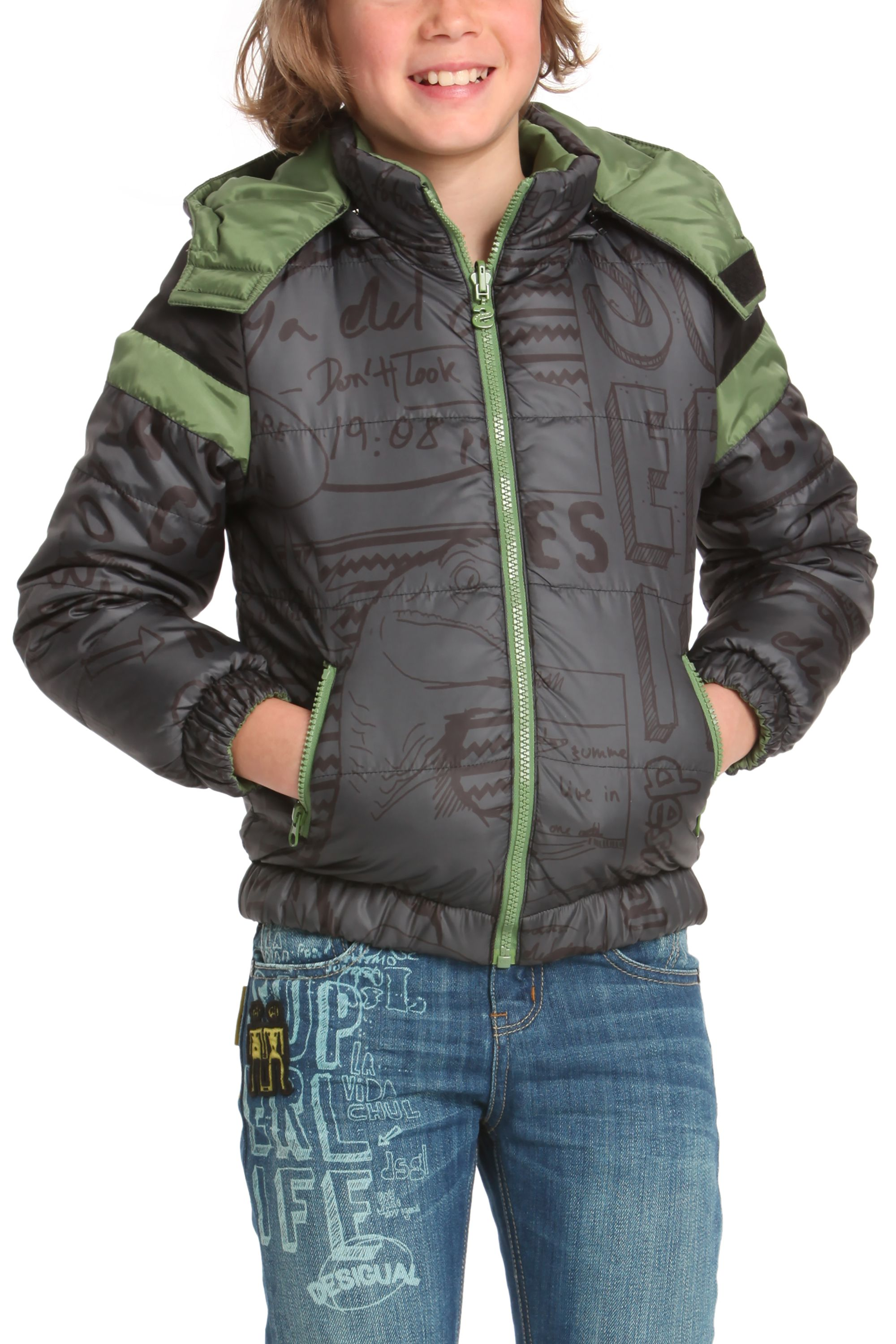 Boys armadillo coat