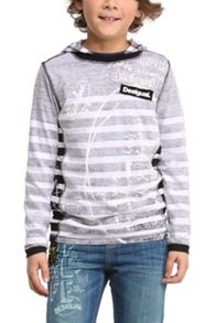 Boys Theo hooded t-shirt