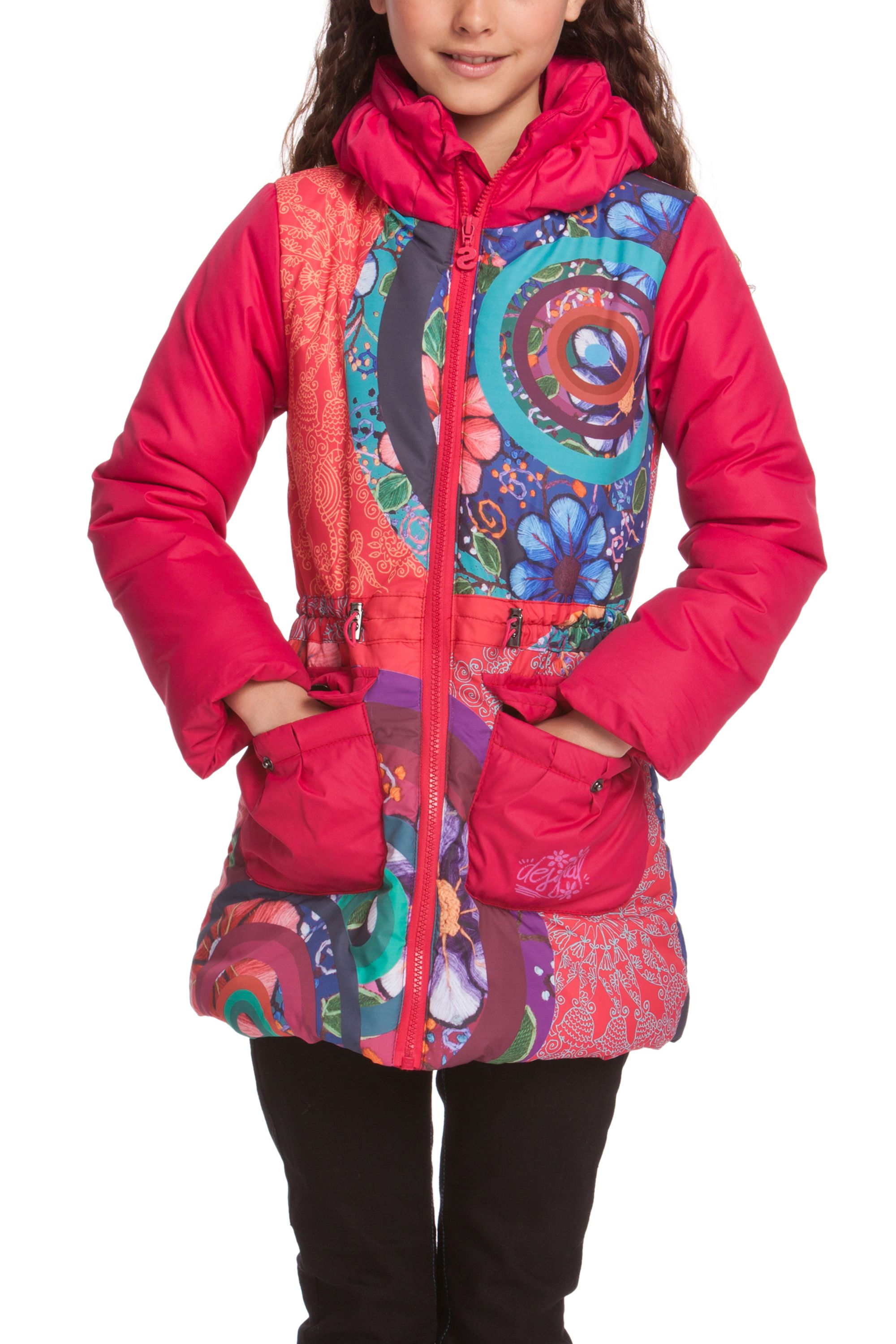 Girls agua coat