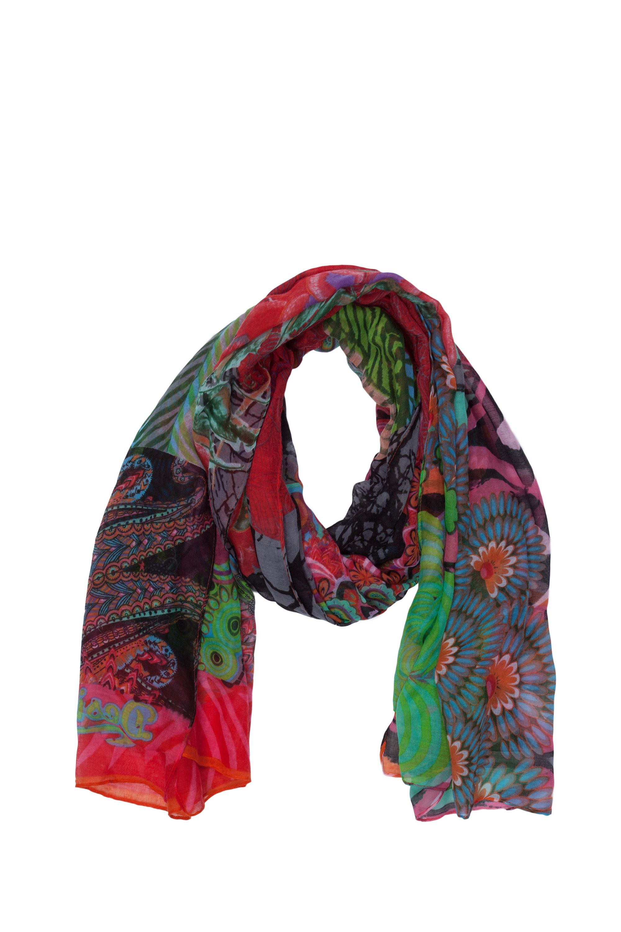 Seduccio carry printed scarf