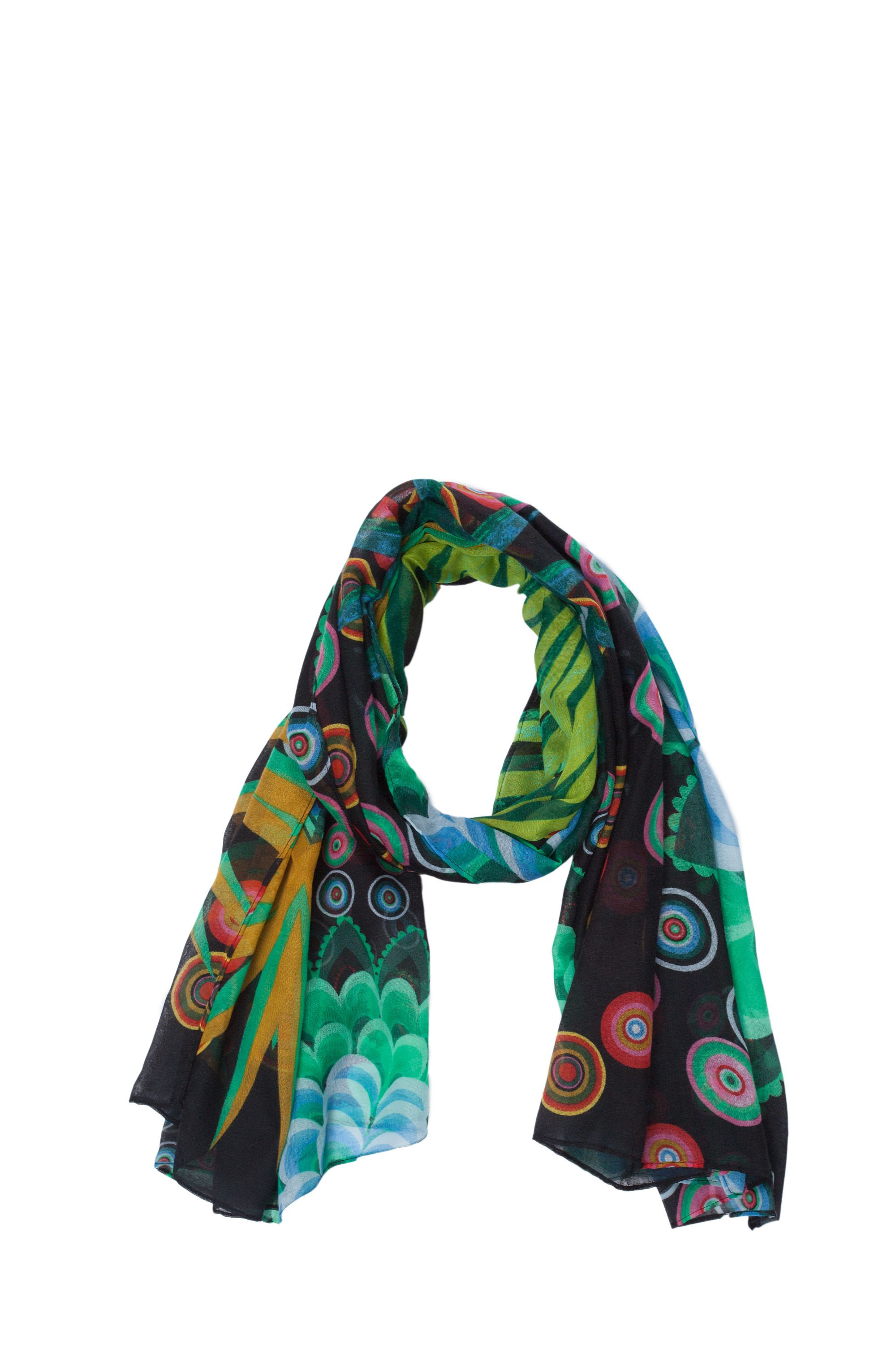 Exotical printed scarf
