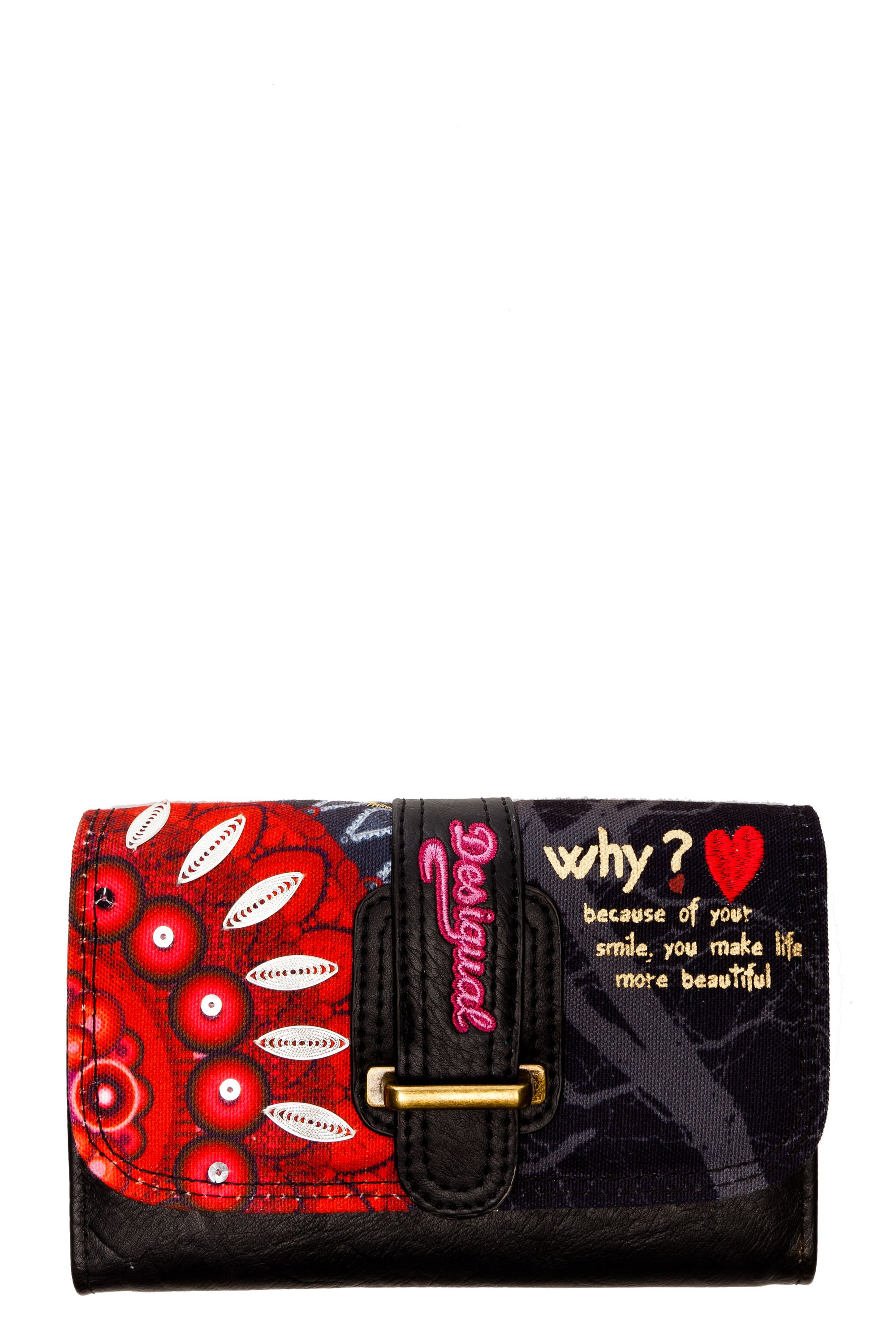 Red circles purse