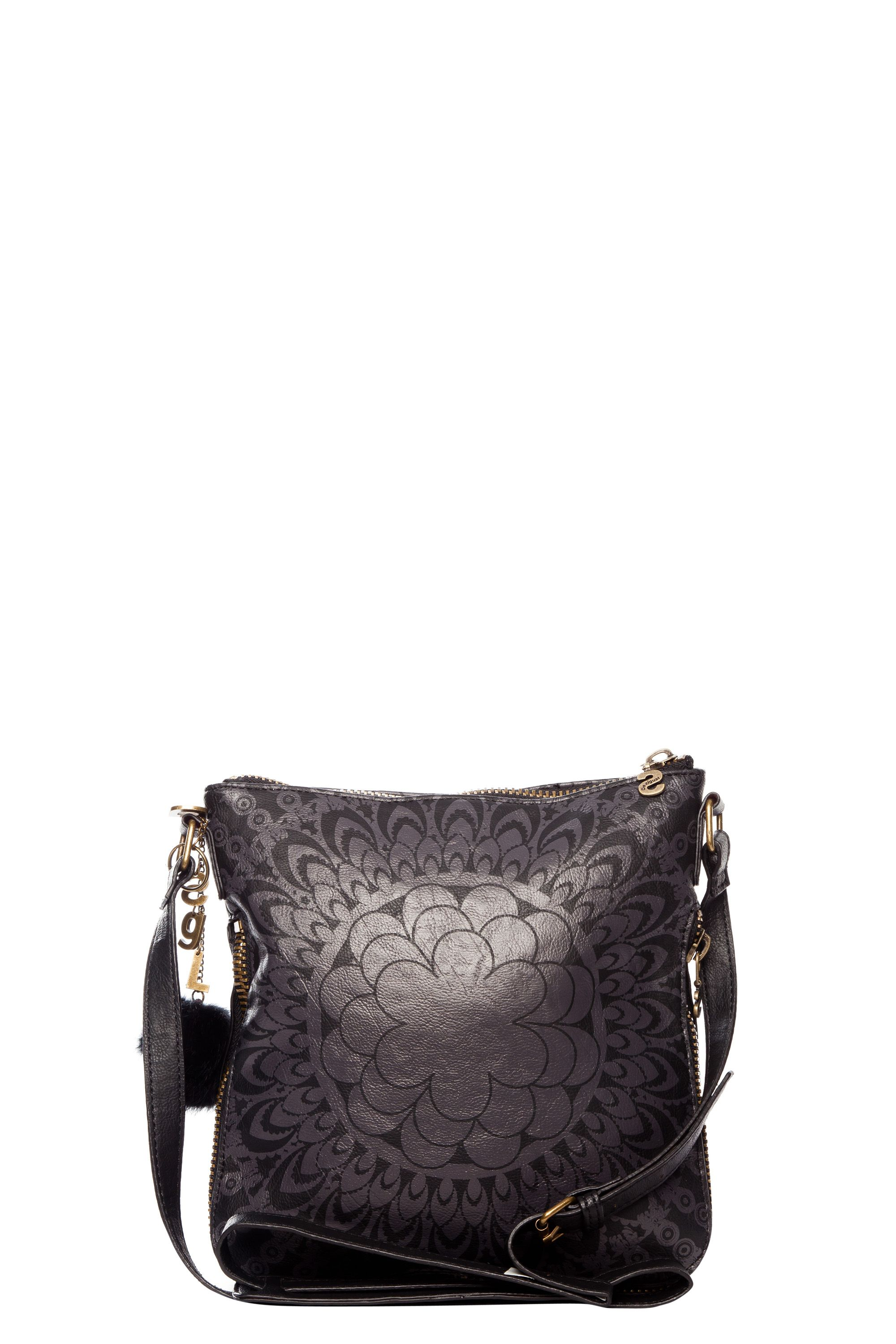 Moscu printed faux fur crossbody bag