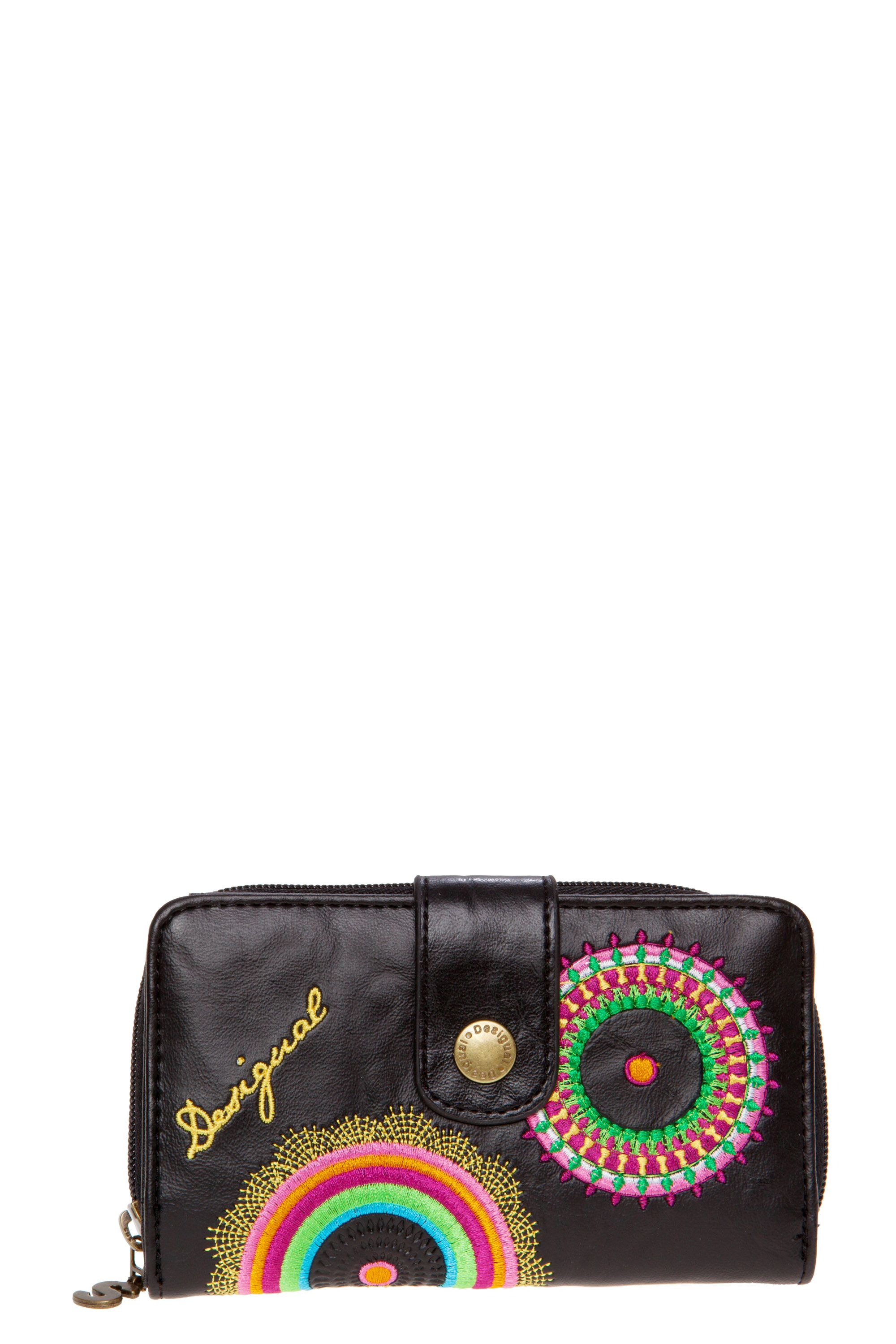 Audrey button snap purse