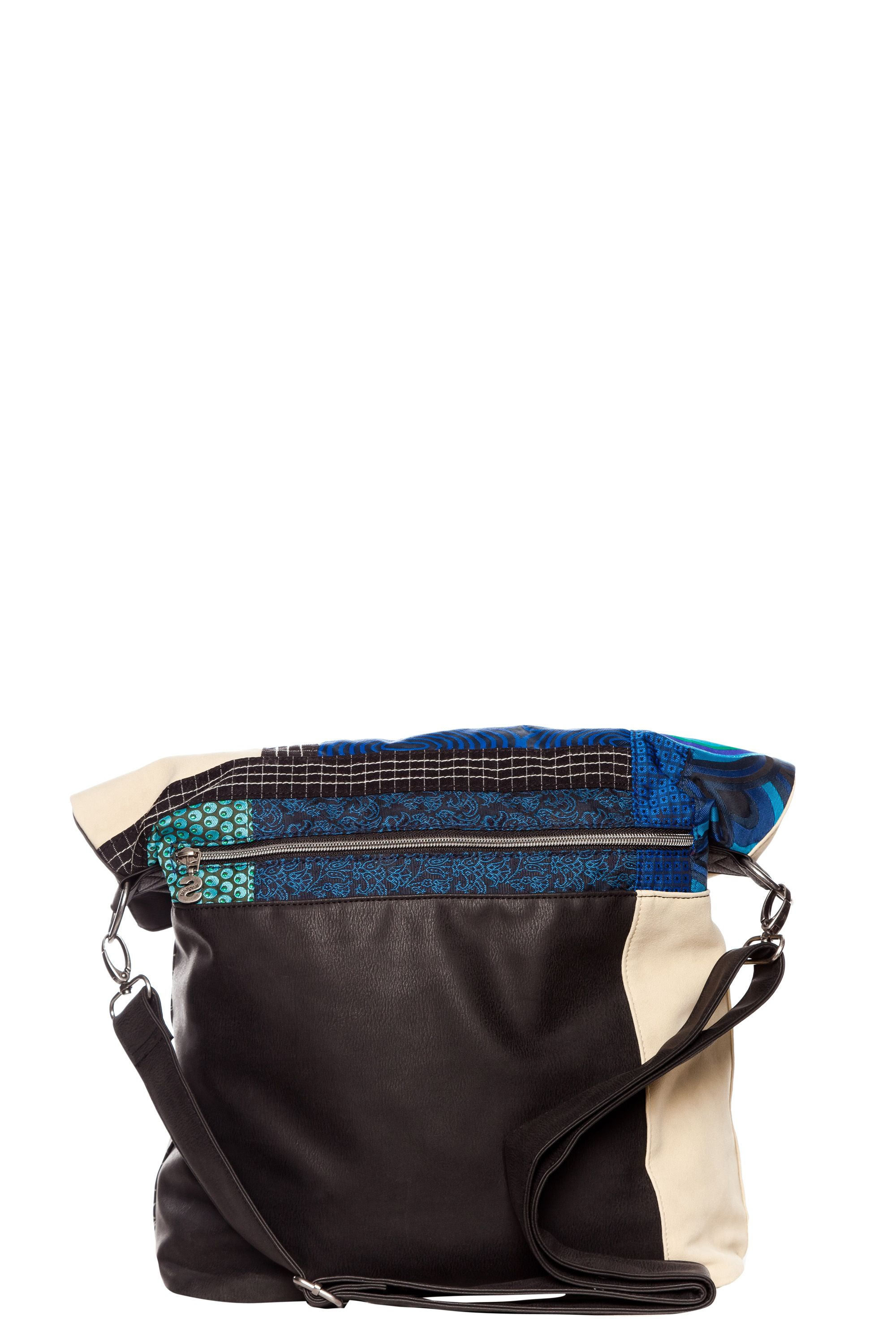 S patch crossbody bag