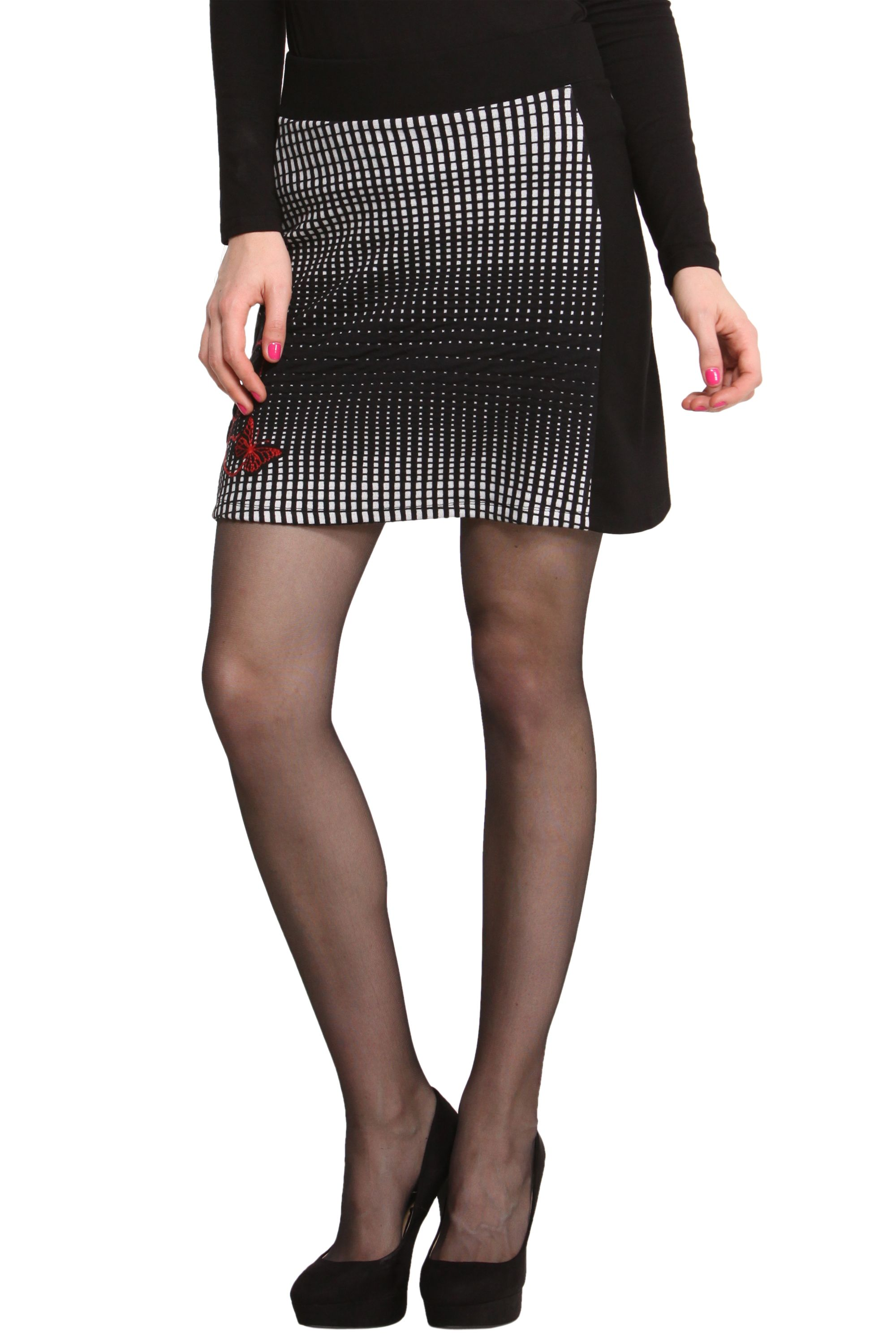 Sil slim fit skirt