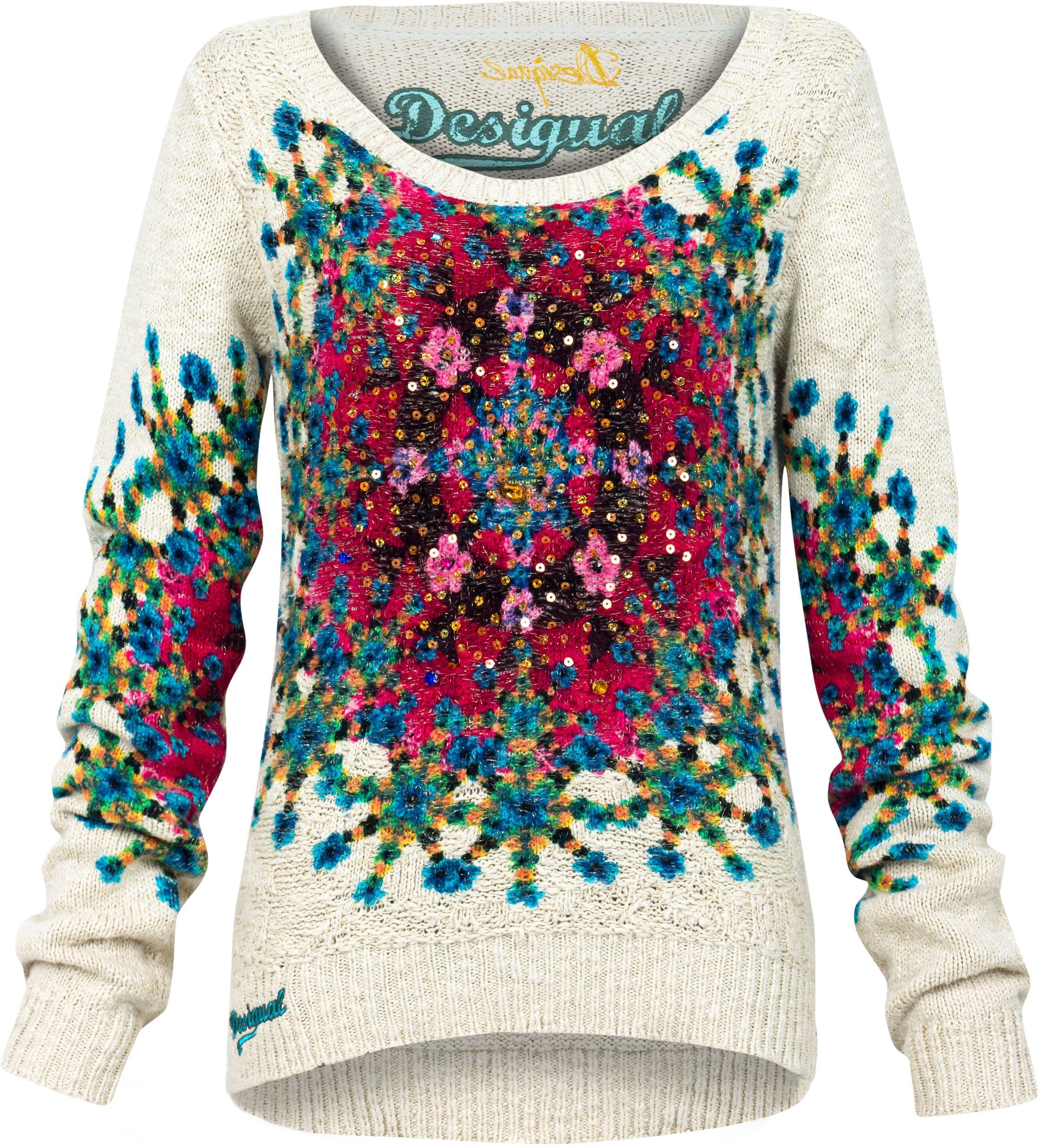 Eley printed jumper