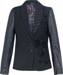 Naft detailed blazer jacket