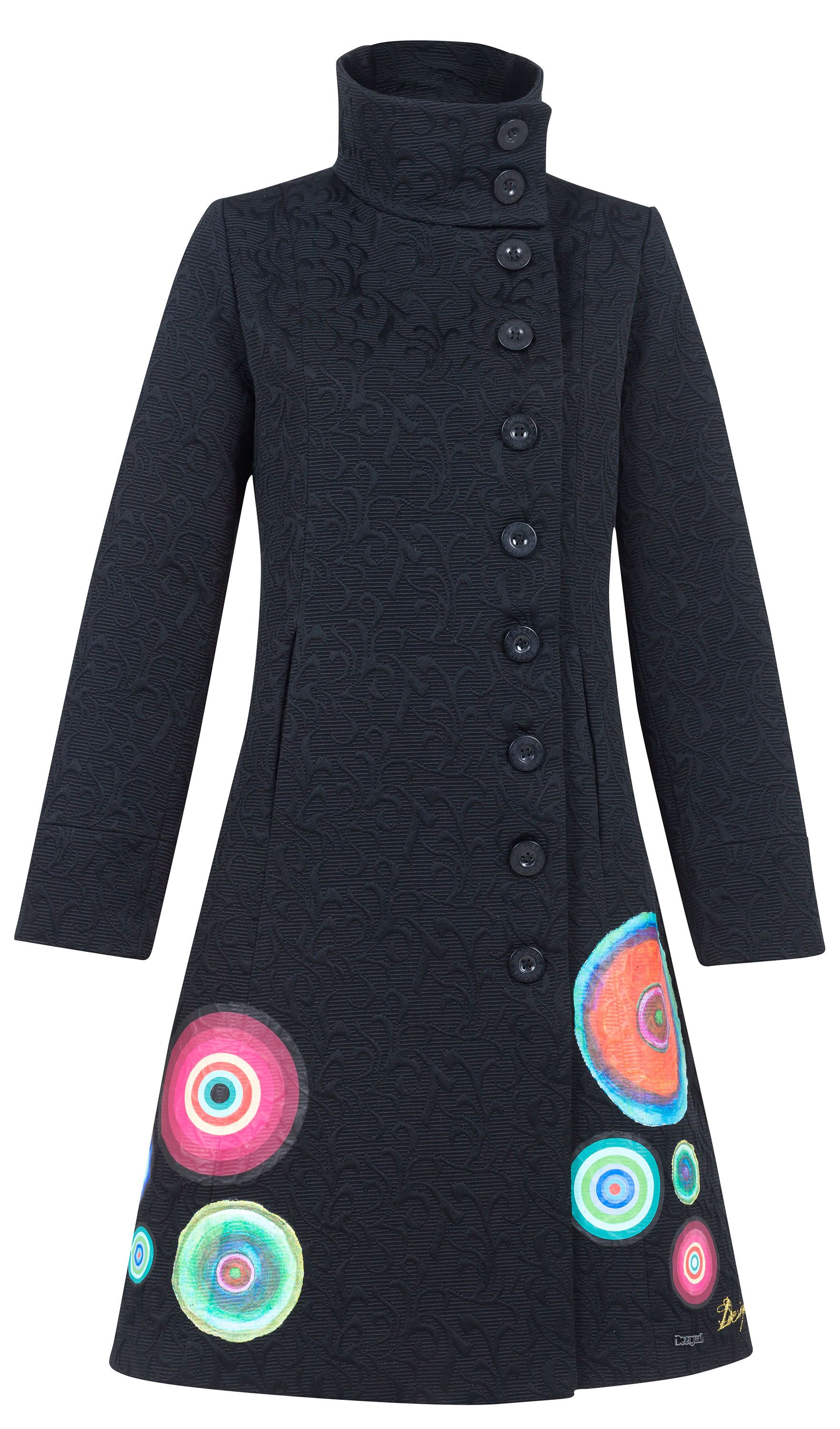 Elisabeth color detail coat