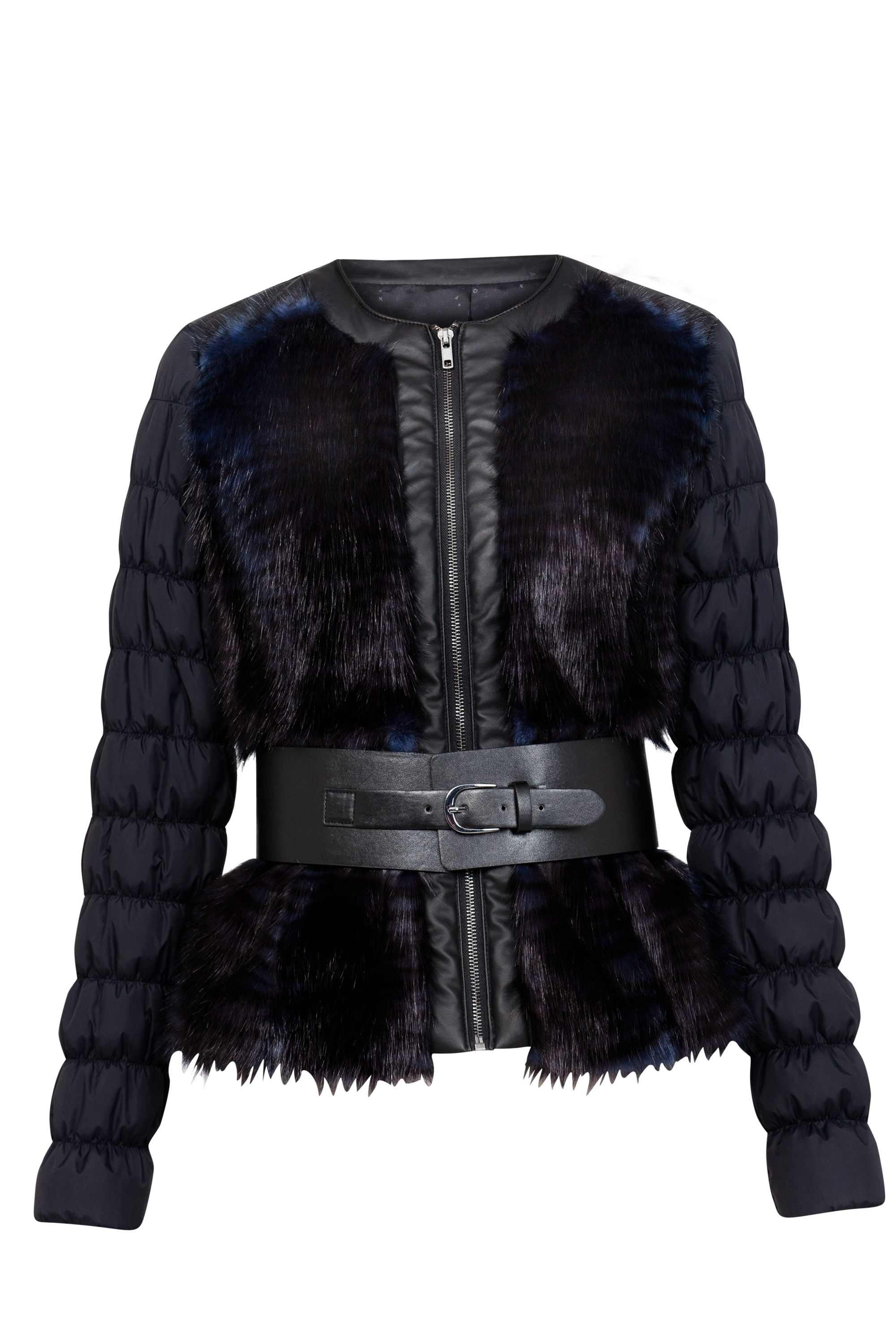 Yvon faux fur jacket