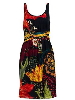 Florecilla Dress by Monsieur Christian Lacroix