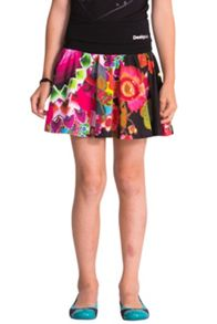 Girls flordeccera printed skirt