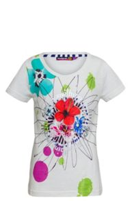Girls baro printed t-shirt