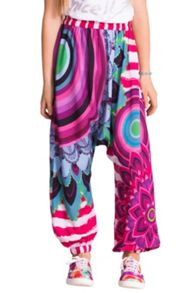 Girls latino harem trousers