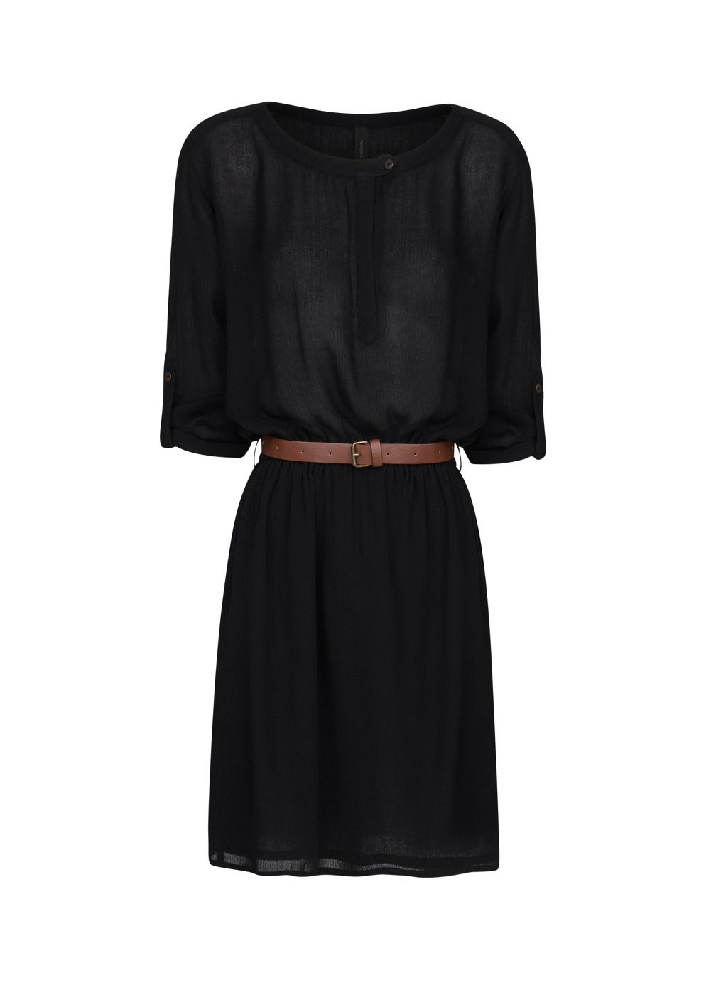 Belt lightweight dress