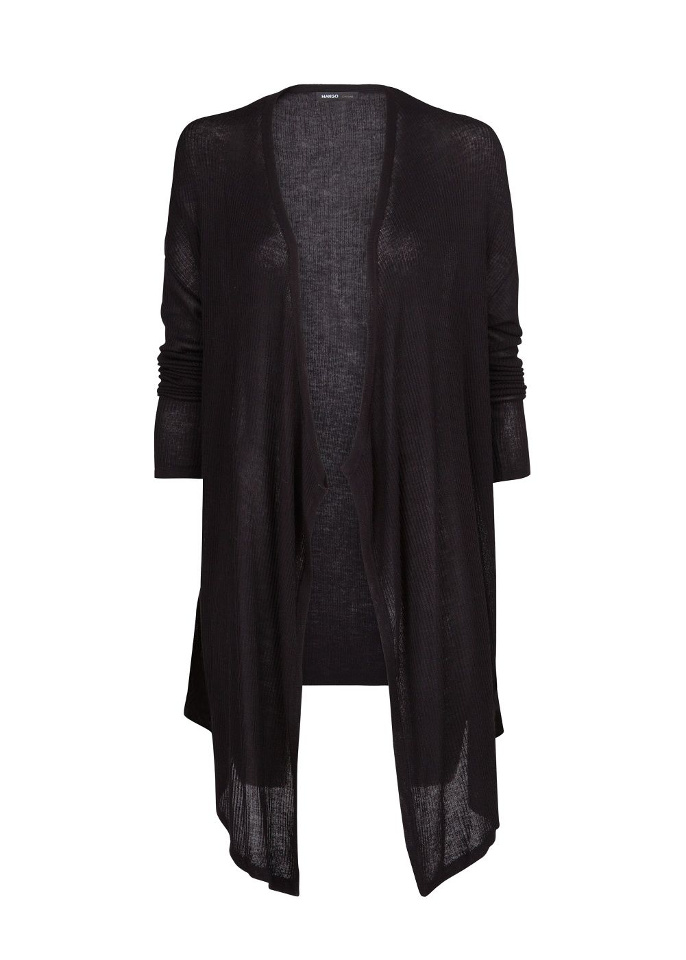 Waterfall long cardigan
