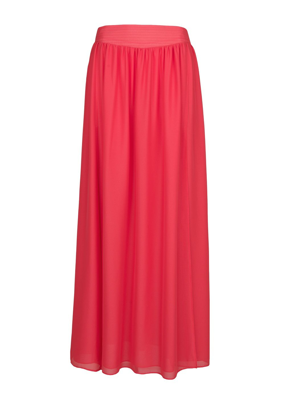 Cut-out long skirt
