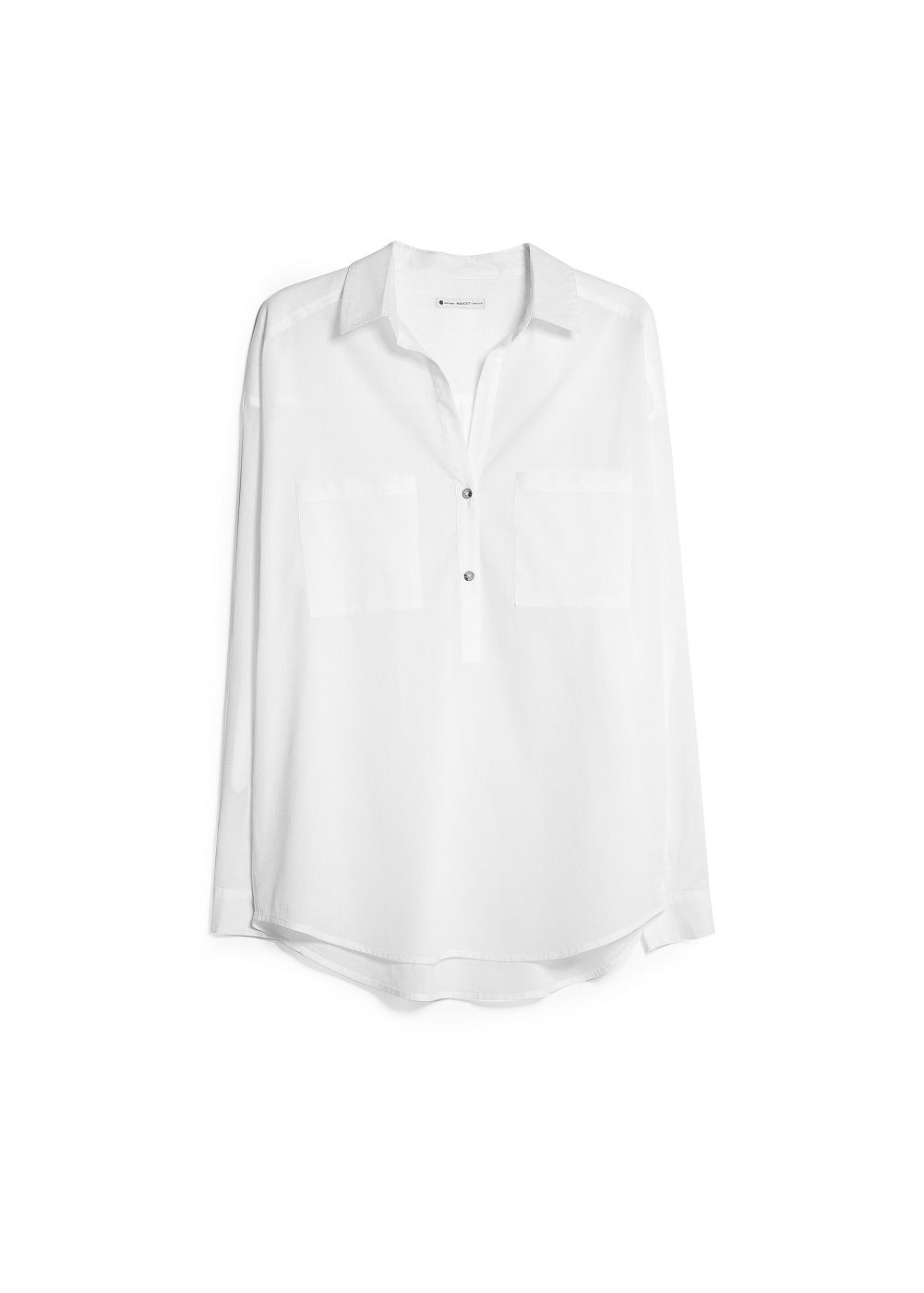 Cotton long shirt