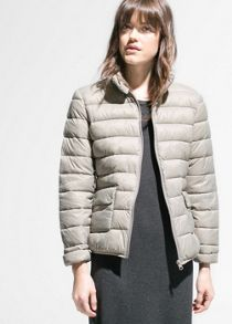 Foldable feather down jacket