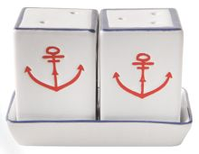 Batela Anchor Salt And Pepper Mill set