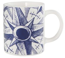 Batela Sailing Boat Design Mugs Set of 4
