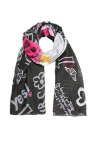 Desigual Girl scarf papaya