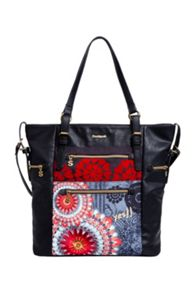 Desigual Argentina New Red Shoulder Bag