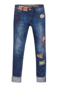 Desigual Boyfriend Indi Denim trousers