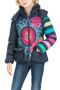 Desigual Girls pitaya overcoat