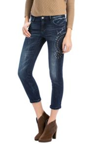 Desigual Ankle Denim trousers