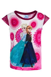 Girls Royal Frozen T-Shirt
