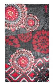 Scarf Rectangle New Red