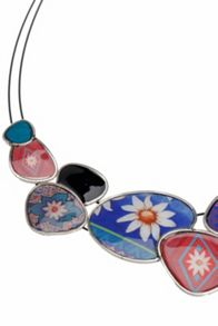 Desigual Chapas Happy Necklace