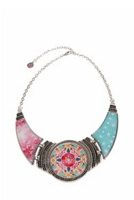 Desigual Eixample Tropical Necklace