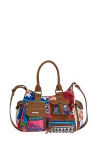 Desigual London Medium Happy Bazar Bag
