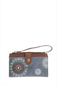 Desigual Long Puller African art Wallet
