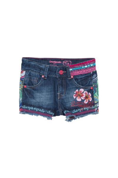 Desigual Girls Fernan Denim shorts