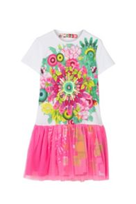 Desigual Girls Ciudaddelcabo Dress